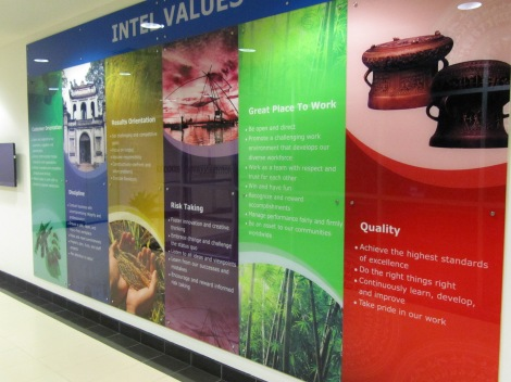 Intel's Core Values