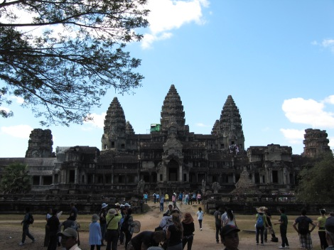Eastern face of Angkor Wat