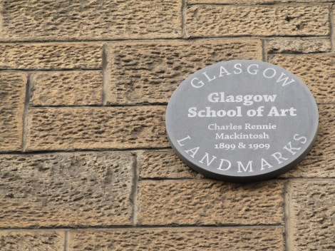 Take a tour of the Mackintosh exhibit at the Glasgow School of Art while visiting