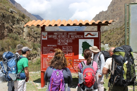 The Beginning of the Inca Trail