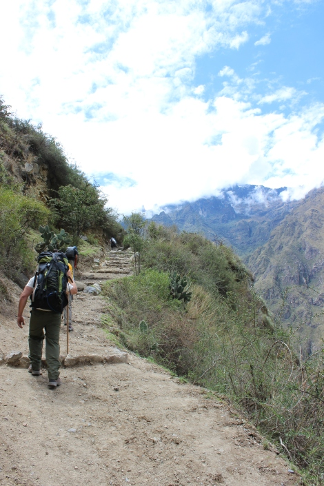 Inca Trail on Day One